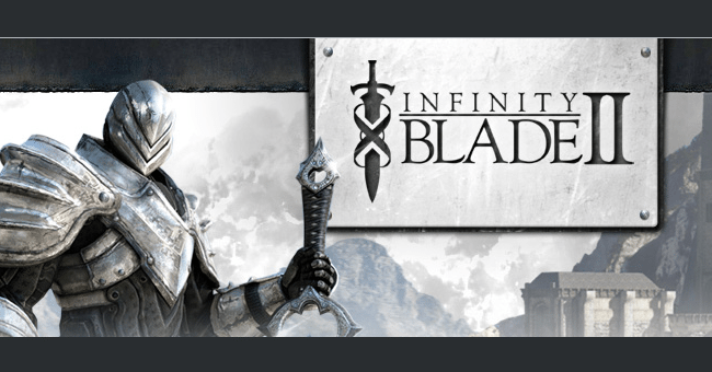infinity blade 2  review iPhone 4S