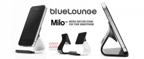 Bluelounge Milo:Il sorprendente mini stand per iPhone