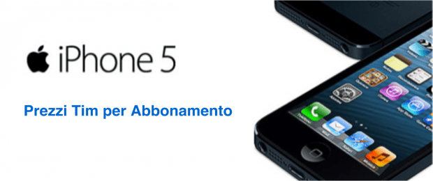 prezzitim per abbonameto iPhone 5_avrmagazine