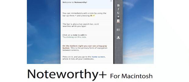 Noteworthy-applicazioni-mac-logo-avrmagazine