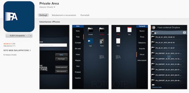 Private-Area-applicazioni-iPhone-6-avrmagazine