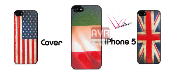 Cover Flag per Apple iPhone 5 by Vaveliero