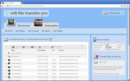 wifi file transfer pro-applicazione-android-avrmagazine