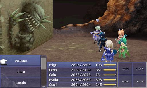 Final Fantasy IV-gioco-android-avrmagazine