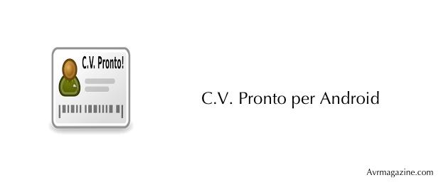 c.v.ptonto-applicazioni-android-avrmagazine