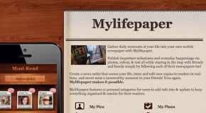 Mylifepaper, la tua vita in quotidiani per iPhone e iPod Touch