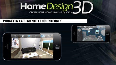 Home design 3d arreda e costruisci la tua casa su iphone e for Home design 3d ipad