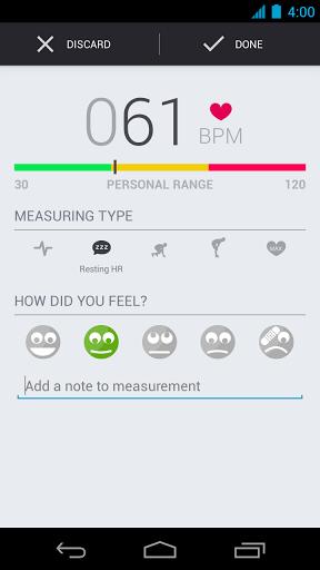runtastic heart rate pro 2-applicazione-android-avrmagazine