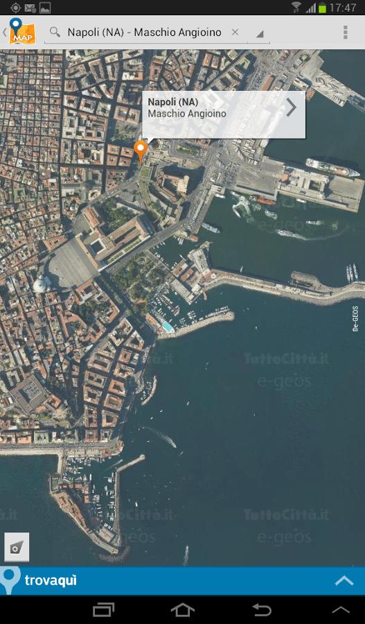 tuttocittà map-applicazione-android-avrmagazine