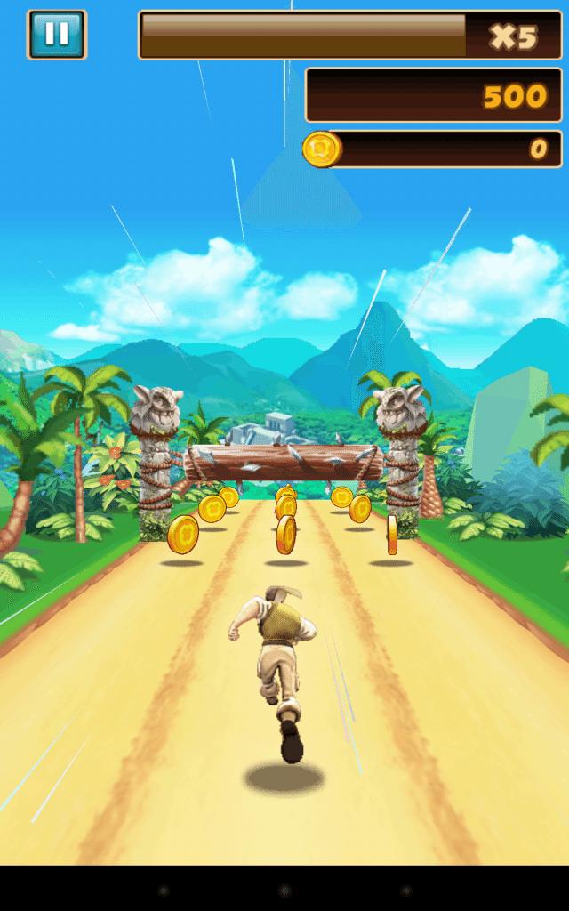 danger dash-gioco-android-avrmagazine