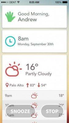 Today - Wake Up Alarm Clock-applicazione-iphone-ipad-1-avrmagazine