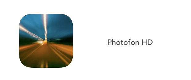 Photofon HD-applicazioni-iphone-logo-avrmagazine