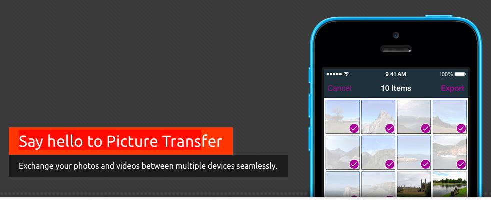 picture-transfer-applicazioni-iphone-logo-avrmagazine