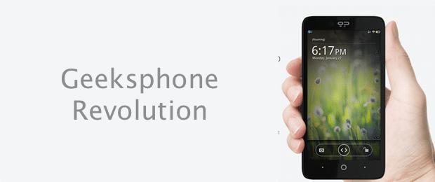 Geeksphone Revolution-logo-avrmagazine