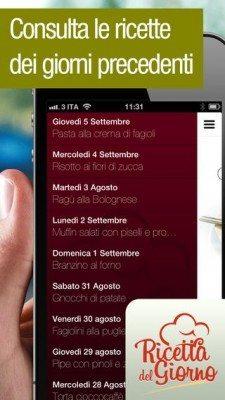 Ricetta Del Giorno-applicazione-iphone-ipad-3-avrmagazine