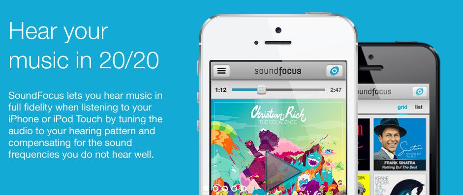 SoundFocus-applicazioni-iphone-avrmagazine-logo
