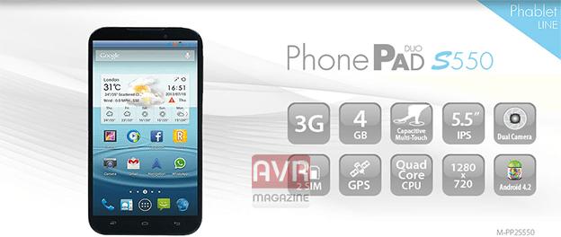 phonepad-s550-avrmagazine