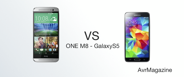 HTC One m8 vs Galaxy S 5-avrmagazine