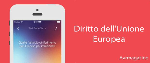 Diritto dell'Unione Europea-applicazioni-iphone-avrmagazine