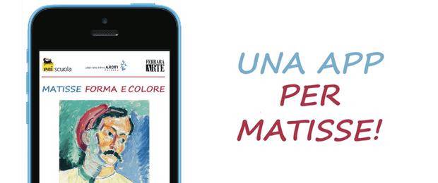 Matisse Forma e Colori-applicazioni-iphone-logo-avrmagazine