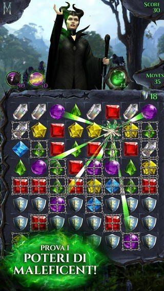 Maleficent-lampi-di-gemme-gioco-per-iphone-1-avrmagazine