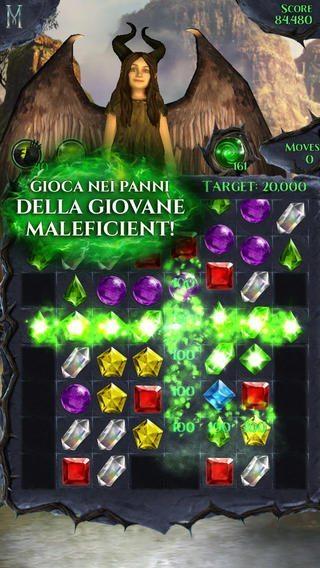 Maleficent-lampi-di-gemme-gioco-per-iphone-avrmagazine