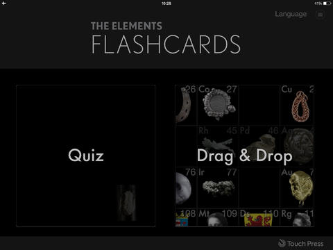 gli-elemeni-flashcards-app-per-iphone