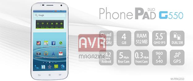 mediacom-phonepad-g550-avrmagzine