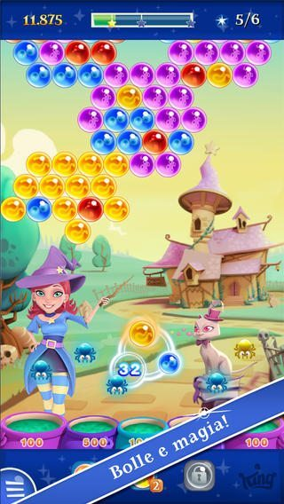 Bubble Witch Saga 2-giochi-per-ios-android-avrmagazine