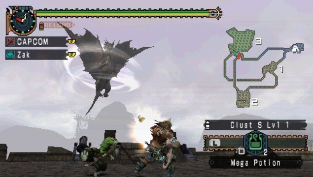Monster Hunter Freedom Unite-giochi-per-iphone-avrmagazine