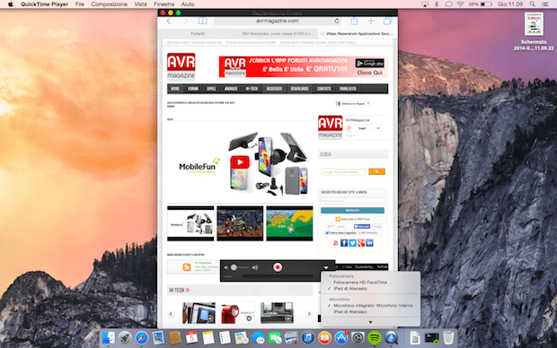 Yosemite-registazione-schermo-iphone-ipad-avrmagazine