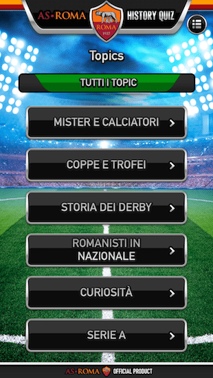 AS Roma History Quiz-giochi-per-iphone-3-avrmagazine