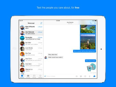 Facebook Messenger-ipad-avrmagazine