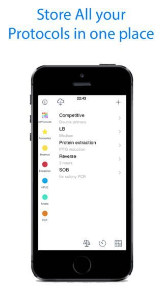 Protocols Manager app per iphone-1- avrmgazine