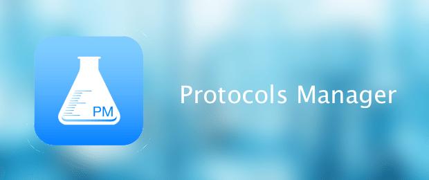 Protocols Manager app per iphone avrmgazine