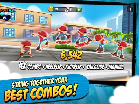 Epic Skater giochi per iphone avrmagazine