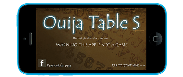Ouija Table S giochi per iphone logo avrmagazine