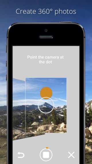 Photo Sphere Camera app per iphone avrmagazine