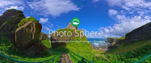 Photo Sphere Camera app per iphone google avrmagazine