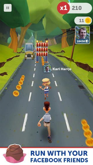 Run Forrest Run giochi iphone avrmagazine