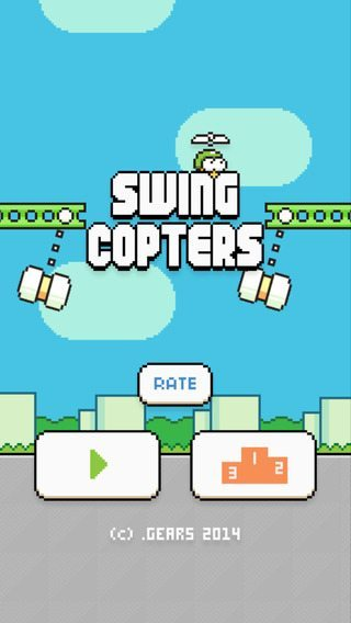 Swing Copters flappy birds avrmagazine 2