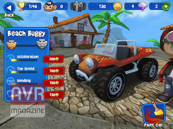 Beach Buggy Racing giochi per iphone avrmagazine3