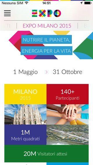 EXPO MILANO 2015 app per iphone avrmagazine
