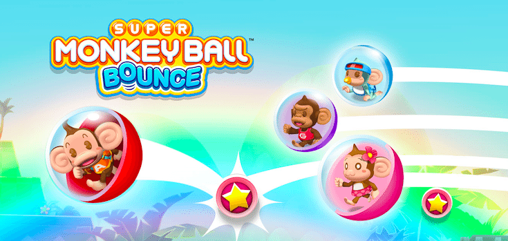 Super Monkey Ball Bounce logo avrmagazine