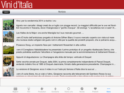 Vini d'Italia Gambero Rosso