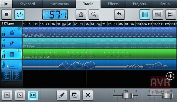 FL Studio Mobile app per iPhone avrmagazine 2