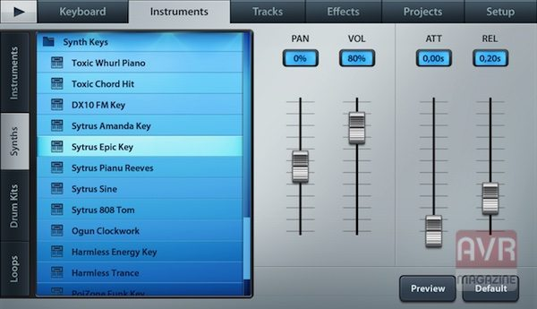 FL Studio Mobile app per iPhone avrmagazine 3