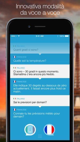 Parla e traduci app per iPhone avrmagazine 2