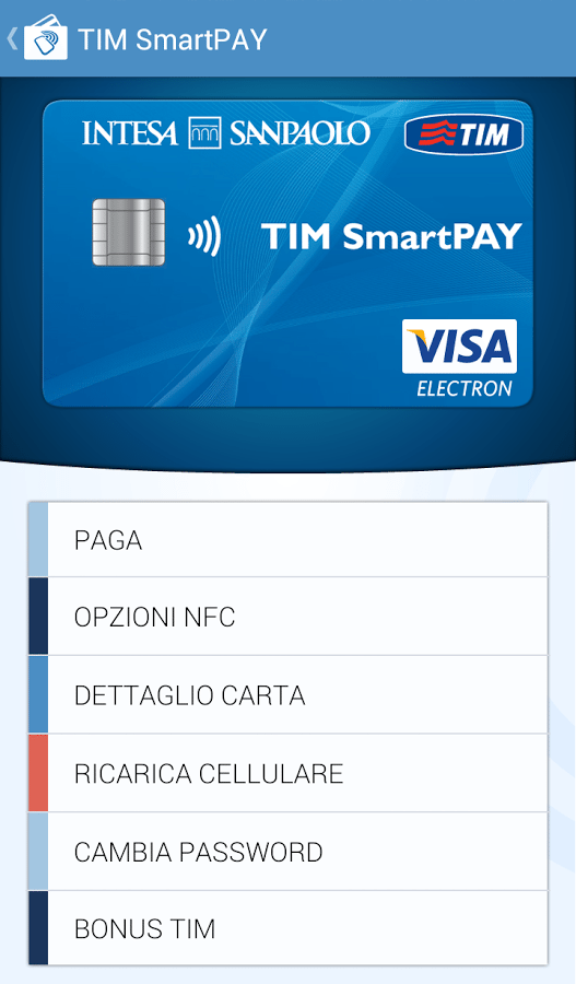 TIM SmartPAY app per android avrmagazine 1