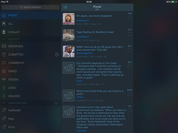aliens-app per ipad
